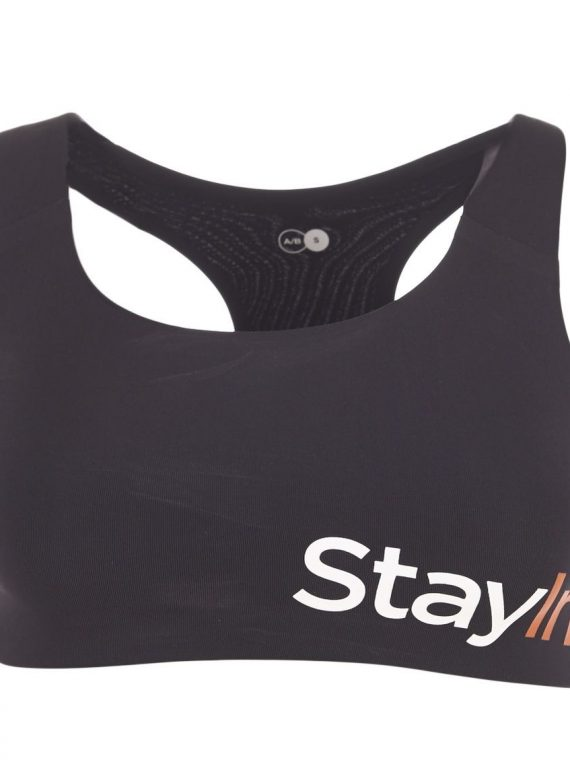 Active Sports Bra A/, Black, Xs, Stay In Place