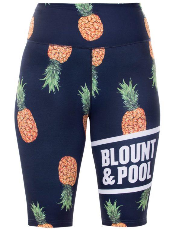 Aruba Short Tights W, Navy Pineapple, 44, Blount And Pool