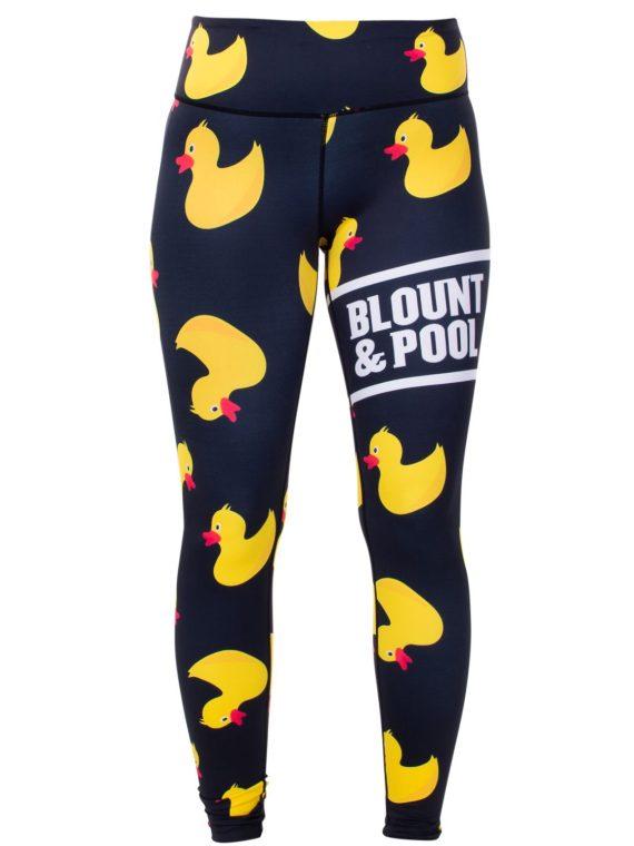 Aruba Tights W, Black Yellow Duck, 42, Blount And Pool
