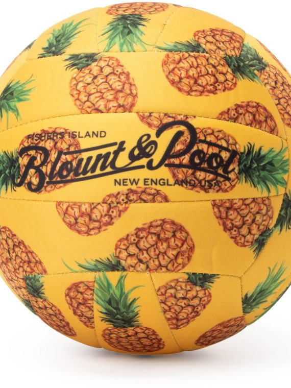 Beach Volleyball, Yellow Pineapple, Onesize, Blount And Pool