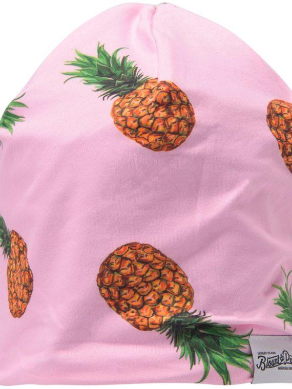 Blount & Pool Beanie, Pink Pineapple Print, Onesize, Blount And Pool