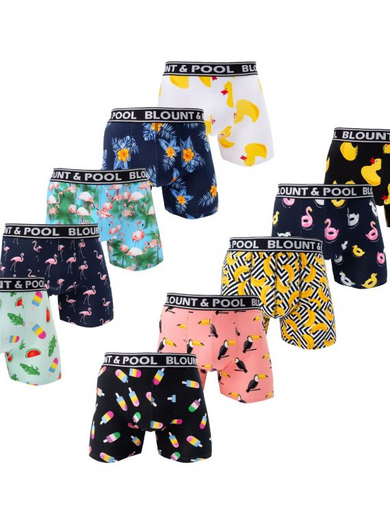 Boxer Shorts 10-Pack, Mix, S, Blount And Pool