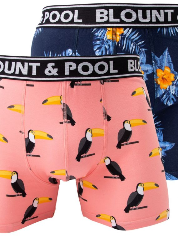 Boxer Shorts, Tucan Flower, M, Blount And Pool