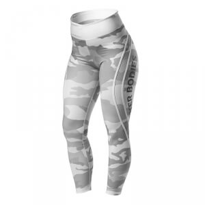 Camo High Tights, white camo, Better Bodies