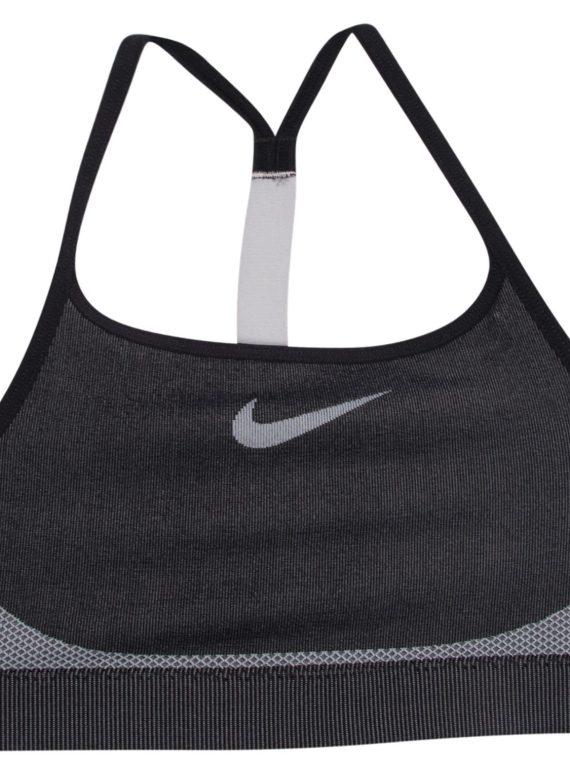 Girls' Nike Sports Bra, Black/Wolf Grey/Wolf Grey, Xs, Sport-Bh