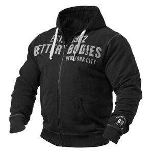Graphic Hoodie, black, Better Bodies