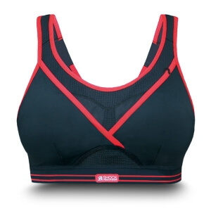 Gym Bra, svart, Shock Absorber