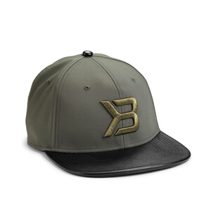 Harlem Flatbill Cap, military green, Better Bodies