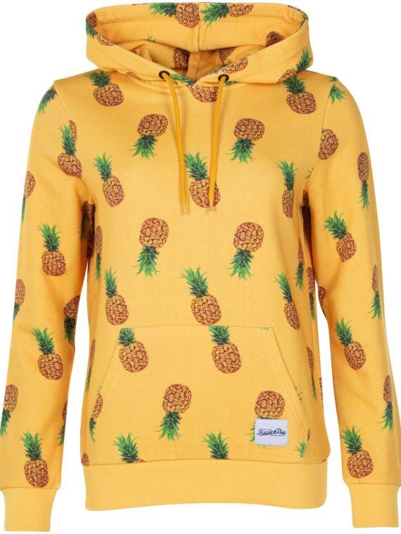 Hawaii Hood W, Yellow Pineapple, 44, Tröjor