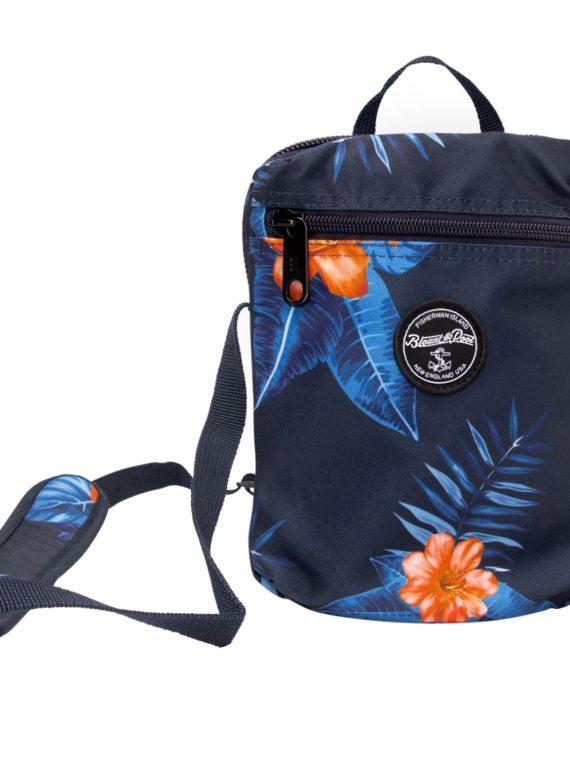 Hawaii Shoulder Bag, Navy Orange Flower, Onesize, Blount And Pool