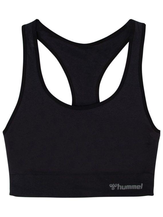 Hmltif Seamless Sports Top, Black, S, Hummel