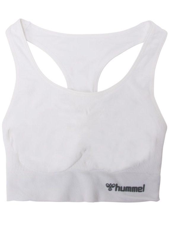 Hmltif Seamless Sports Top, White, L, Hummel