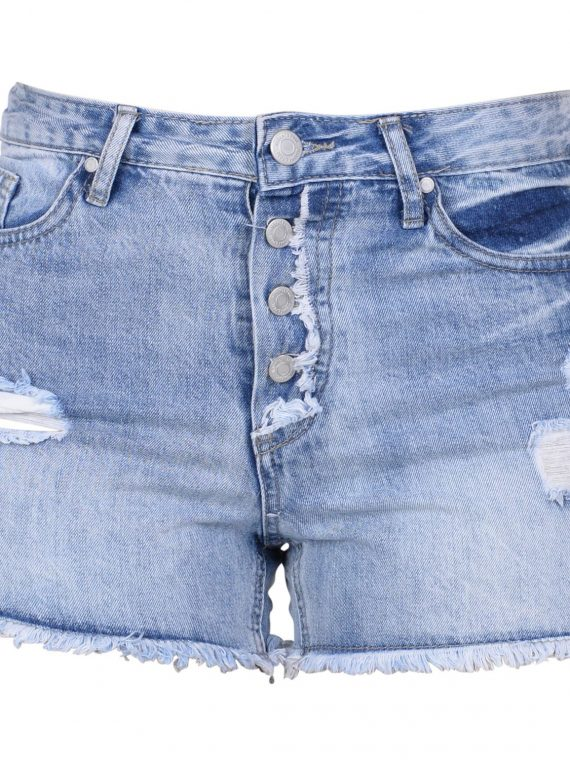 Honolulu Shorts W, Denim Blue, 38, Shorts