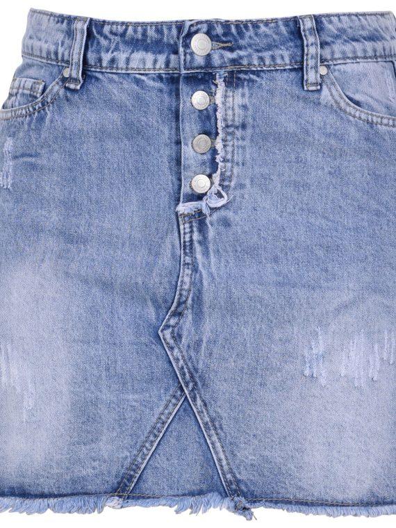 Honolulu Skirt, Denim Blue, 46, Blount And Pool
