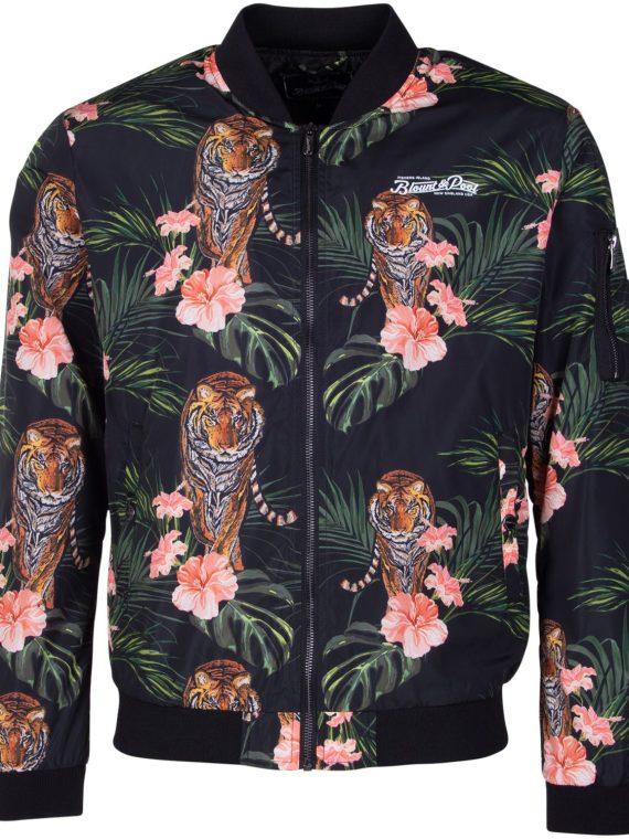 Maui Bomber Jacket, Black Tiger, 2xl, Jackor