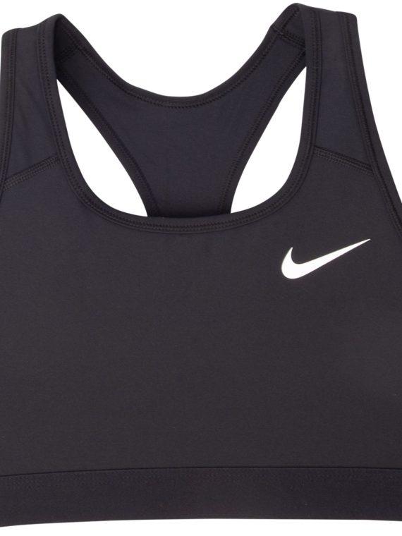 Nike Dri-Fit Swoosh Women's Me, Black/Black/White, S, Nike