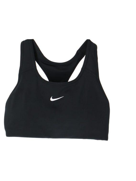 Nike Dri-Fit Swoosh Women's Me, Black/White, Xs, Sport-Bh