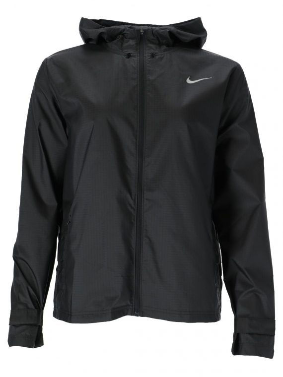 Nike Essential Women's Running, Black/Reflective Silv, S, T-Shirts