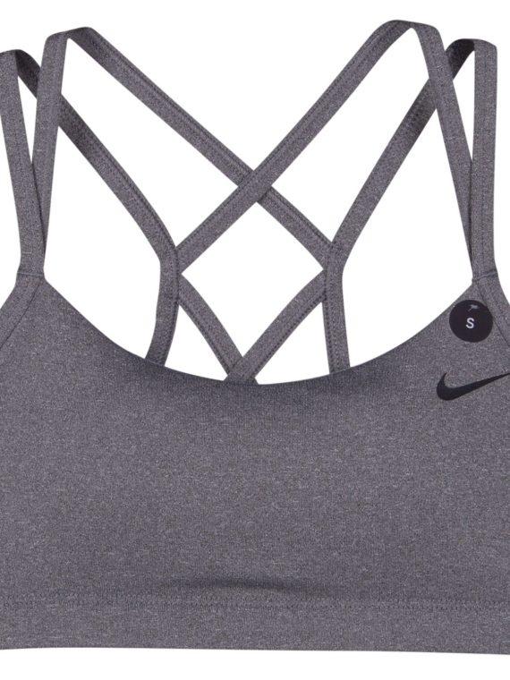 Nike Favorites Strappy Women's, Carbon Heather/Black, Xs, Nike