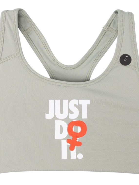 Nike Rebel Swoosh Jdi Bra, Jade Horizon/Black, M, Nike