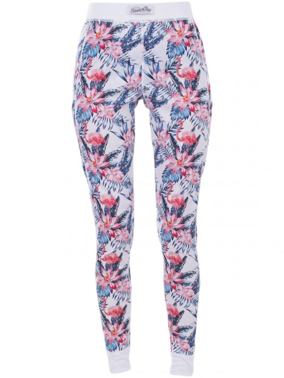 Pants Baselayer W, White Aop, 36, Blount And Pool