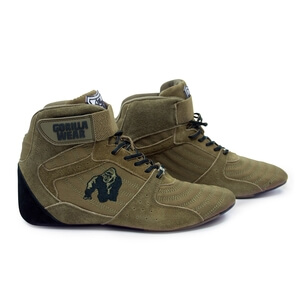 Perry High Tops Pro, army green, Gorilla Wear