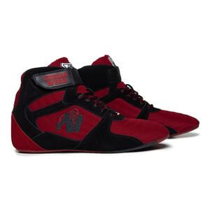 Perry High Tops Pro, red/black, Gorilla Wear