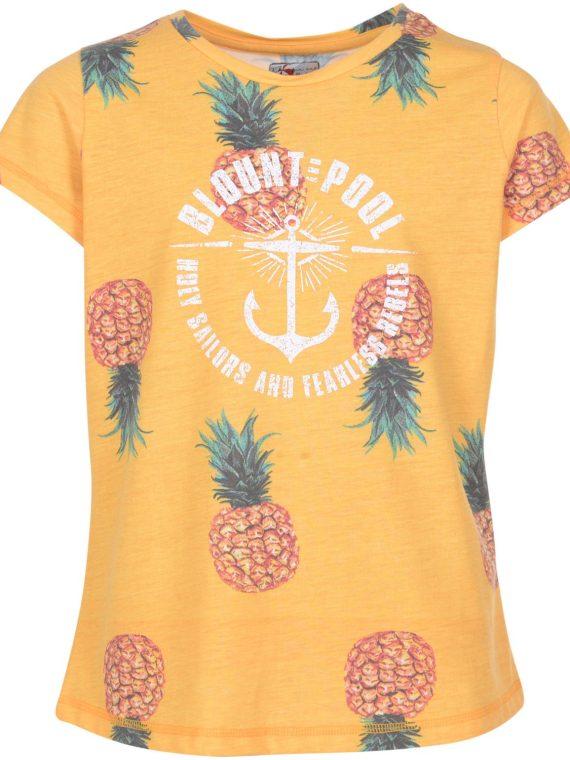 Pineapple Tee Jr, Yellow, 160, T-Shirts