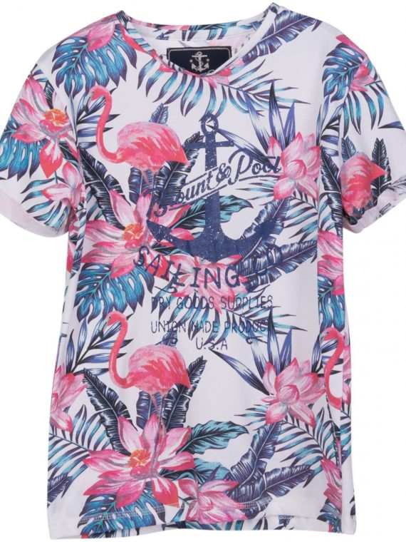 Pink & Blue Flamingo Jr, White, 120, Blount And Pool