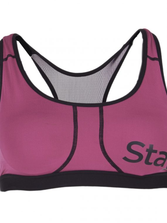 Power Bra A/B, Shrimp Pink, M, Stay In Place