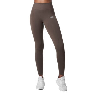 Ribbed Define Seamless Tights, dark sand, ICANIWILL