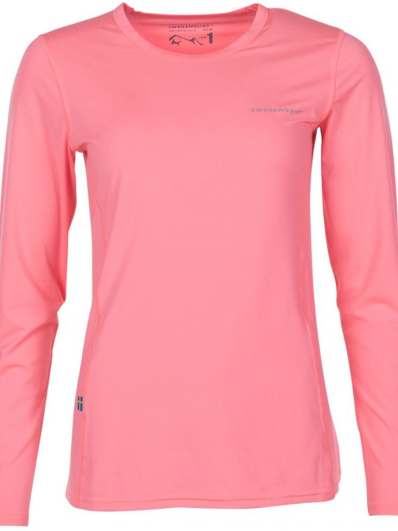 Saltö Ls W, Apricot, 44, T-Shirts