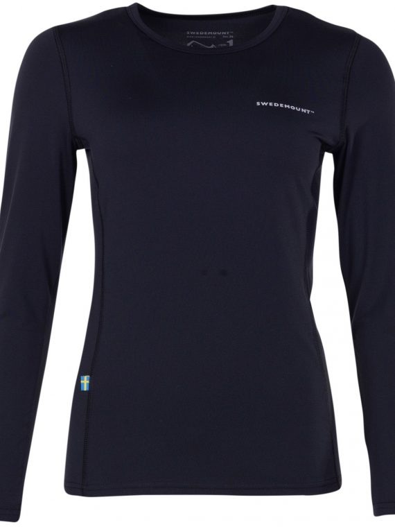 Saltö Ls W, Black, 36, T-Shirts