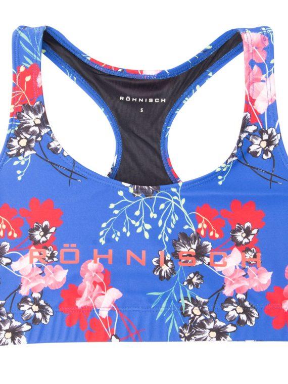 Stripe Sports Bra, Hermosa Blue, Xs, Röhnisch
