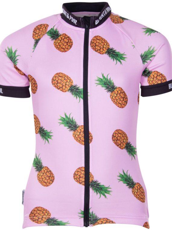 Tour Bike Tee Jr, Pink Pineapple, 160, Blount And Pool