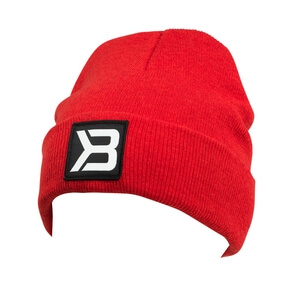Tribeca Beanie, bright red, Better Bodies