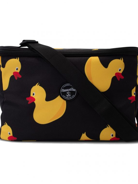 Tropical Cool Bag, Black Yellow Duck, Onesize, Accessoarer