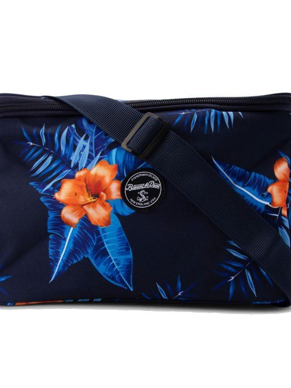 Tropical Cool Bag, Navy Orange Flower, Onesize, Accessoarer