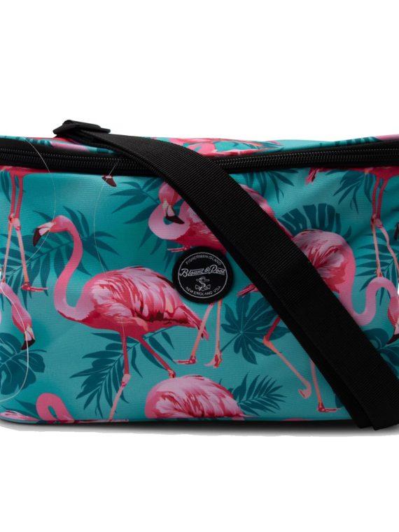 Tropical Cool Bag, Turquoise Flamingo, Onesize, Accessoarer