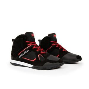 Troy High Tops, black/red, Gorilla Wear
