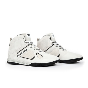 Troy High Tops, white, Gorilla Wear