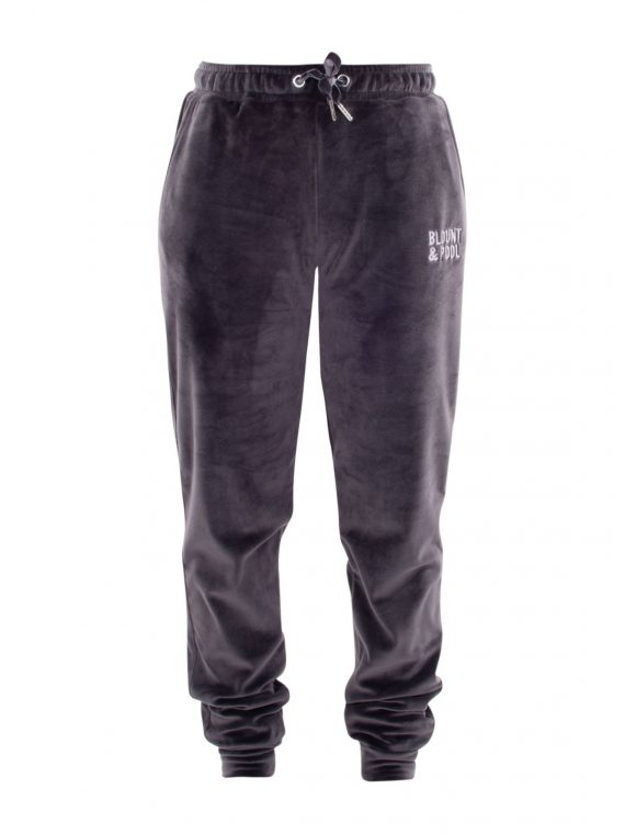 Velour Pants W, Charcoal, 44, Blount And Pool