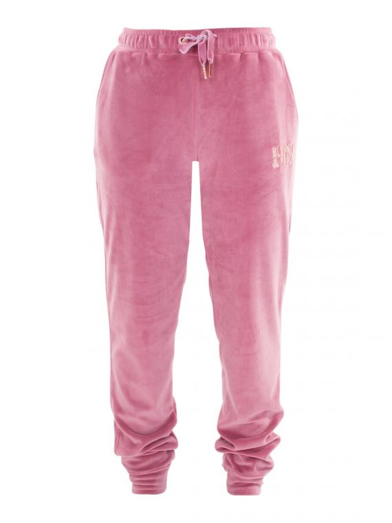 Velour Pants W, Dusty Rose, 46, Blount And Pool