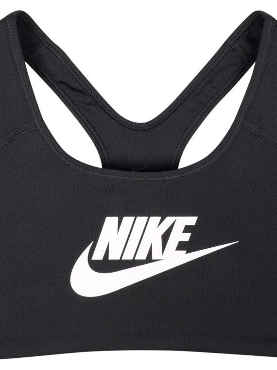 Women's Nike Swoosh Futura Spo, Black/White, L, Nike
