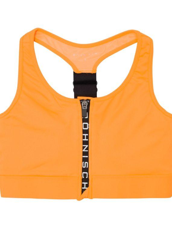 Zippy Sportsbra, Neon Orange, M, Röhnisch